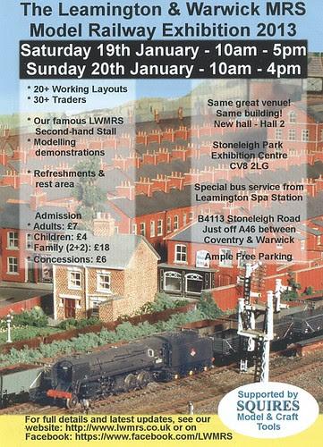 Leamington & Warwick MRS Show Poster 2013