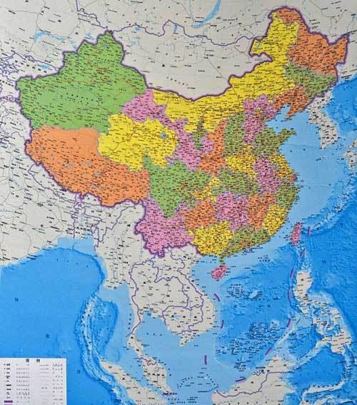 TQ, bản đồ, giàn khoan, Biển Đông, chủ quyền, Hoa Đông, Senkaku