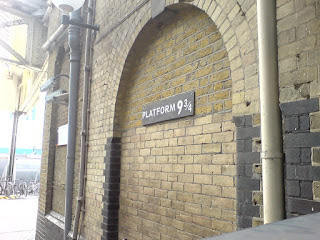 En route to Hogwarts
