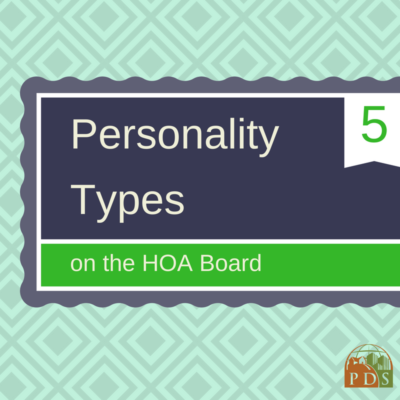 5 Effective Personality Types for the HOA Board - Planned Development Services