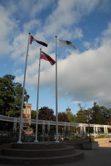 Municipal Flag at Brampton City Hall - Municipal Flags on Waymarking.com