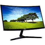 """Samsung C27F398FWN - 27"""" Curved LED LCD Monitor - 16:9 - Glossy Black"""