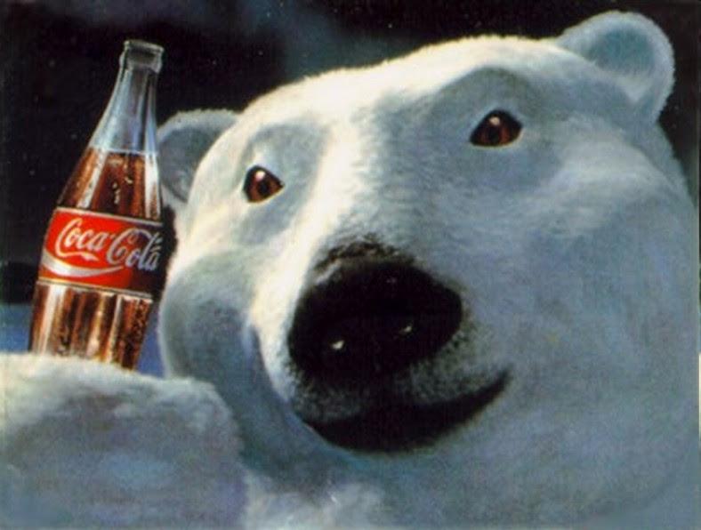 Urso polar - Coca-Cola