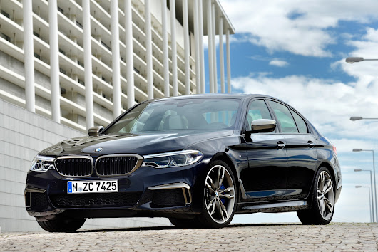 Here is how quickly the BMW M550i goes from 0 to 250 km/h