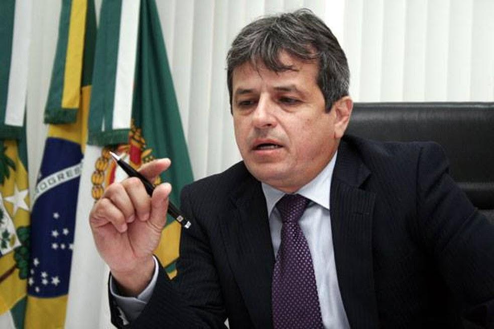 Rinaldo Reis, procurador-geral de Justiça do RN, atribui vazamentos ao próprio deputado Ricardo Motta (Foto: Divulgação/Assessoria MPRN)