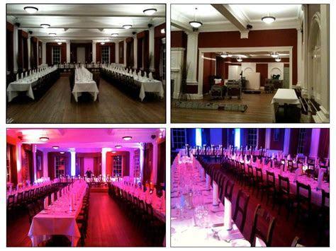#Uplighting   before and after! #Reception #Weddingideas #