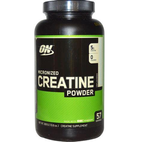 optimum nutrition micronized creatine powder unflavored