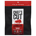 Chefs Cut Jerky, Smoked Beef, Original Recipe - 2.5 oz
