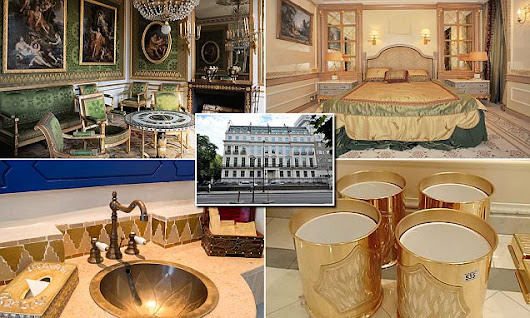 Everything must go! Entire contents of £300mm super-mansion on sale