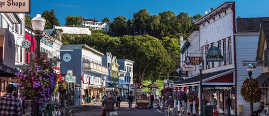 Mackinac Island is America's most absurdly cute town