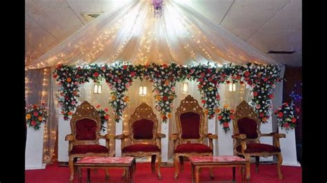 wedding decorations in tamilnadu   YouTube