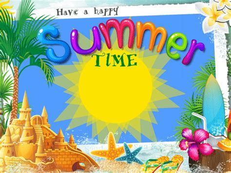 A Happy Summer Time Ecard Free Happy Summer eCards