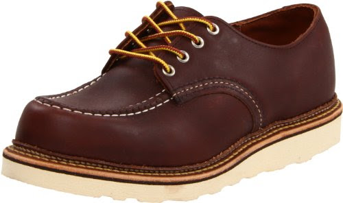 Red Wing Shoes Men's Work Oxford,Mahogany ,8.5 D US