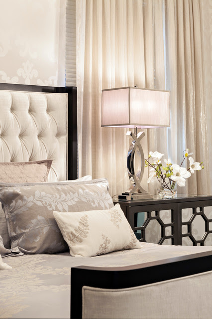 Modern Glamour - Contemporary - Bedroom - Miami - by ...