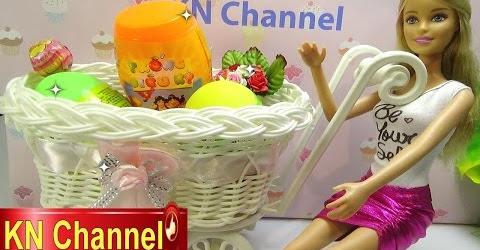 Đồ chơi trẻ em Bé Na búp bê Barbie Bóc Trứng bất ngờ tập 3 Magic Eggs Surprise Childrens toys