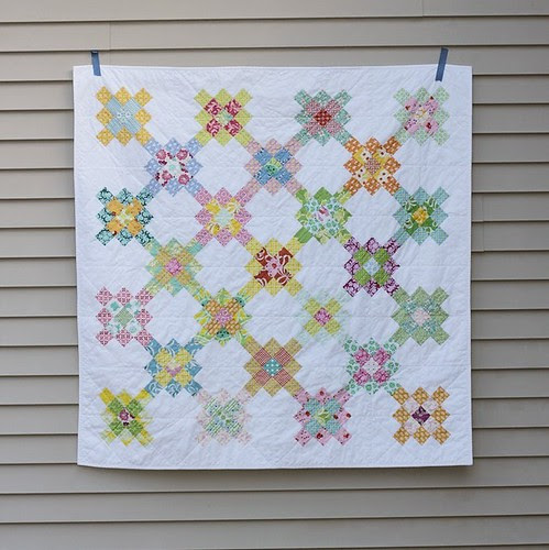 Granny Square Quilt : a finished quilt