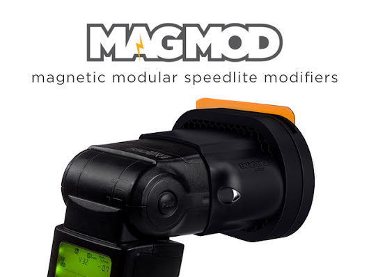 MagMod - Magnetic Speedlite Modifiers for Hot-Shoe Flashes