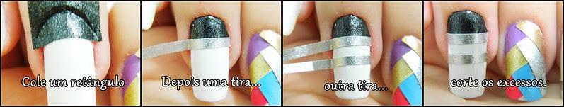 juliana leite tutorial nail art unhas decoradas faça seu adesivo de unhas