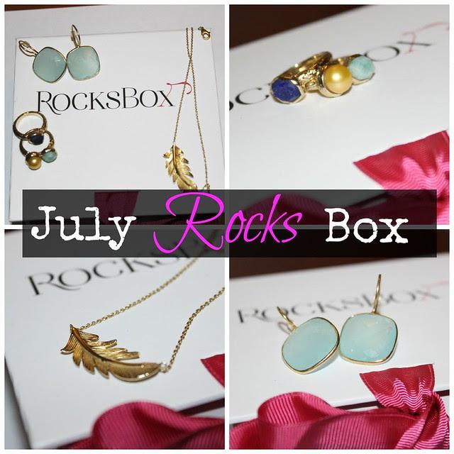 July 13 Rocks Box Collage