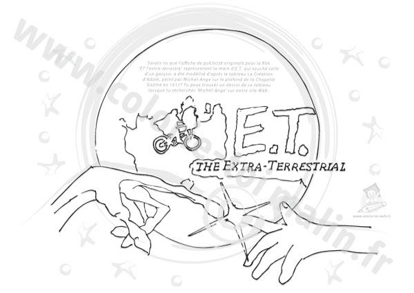 Dessin De Et L Extraterrestre