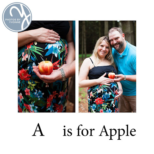 Margaret & Mel's Alphabet Baby Bump Session // Temperance Baby Photographer  -  // Toledo OH Portrait Photographer Photos by Yvonne