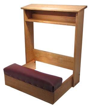 Wood working Idea: Detail Woodworking plans prayer kneeler