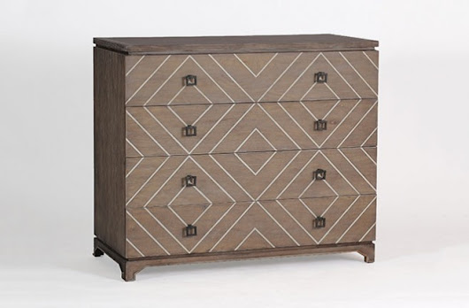 Traditional Materials + A Bold New Print: The Terrance Chest