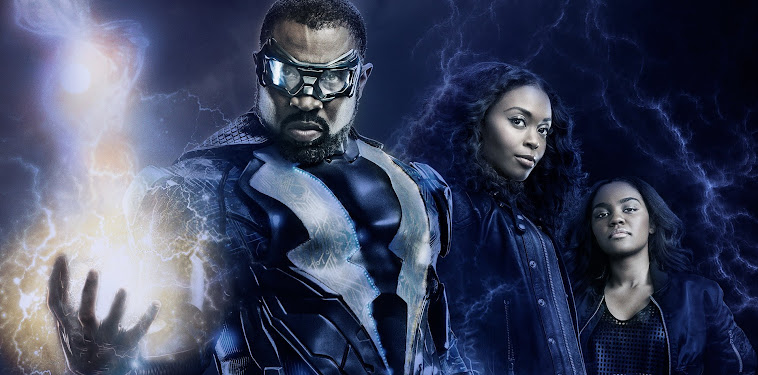 Black Lightning Wallpaper