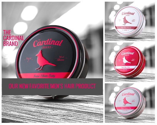 2018's Best Men's Hair Product | The Cardinal Brand - Get Good Head