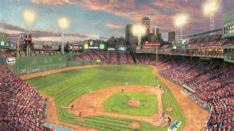baseball stadium fenway park desktop pc  mac