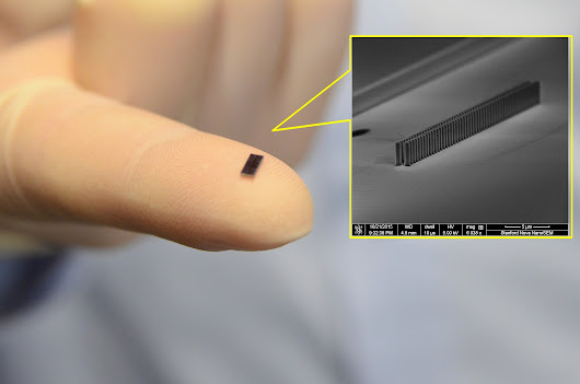 Paving the way: An accelerator on a microchip