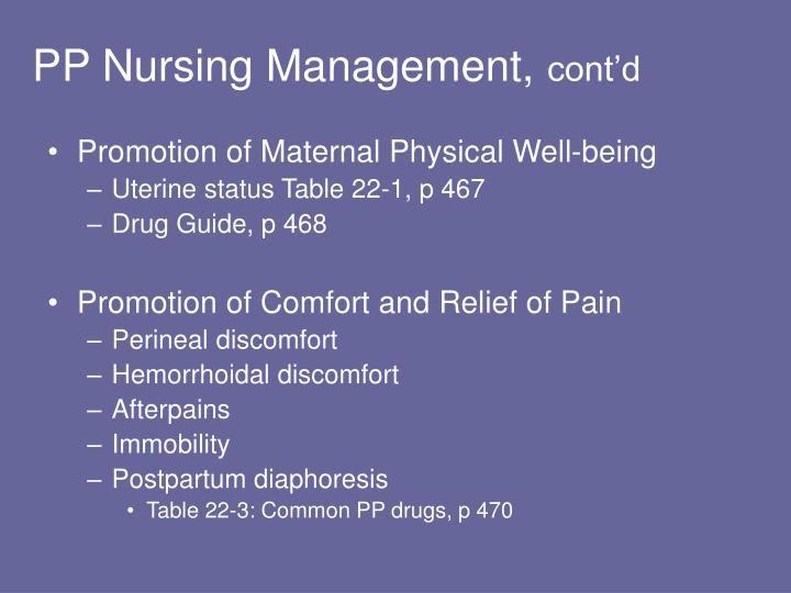 PPT - The Postpartum Period The Postpartum Family: Needs ...