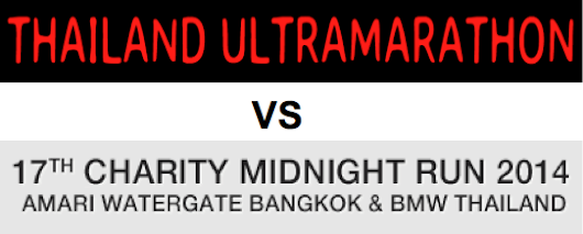 Midnight Run Vs Thailand Ultra Marathon | Run Thailand