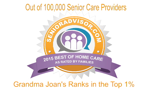 Grandma Joan's Ranked In Top 1% of All Senior Care Providers Nationwide
