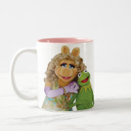 Miss Piggy and Kermit Coffee Mug