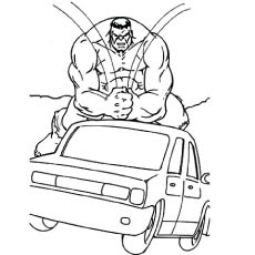 hulk coloring pages free printable  tensei colors