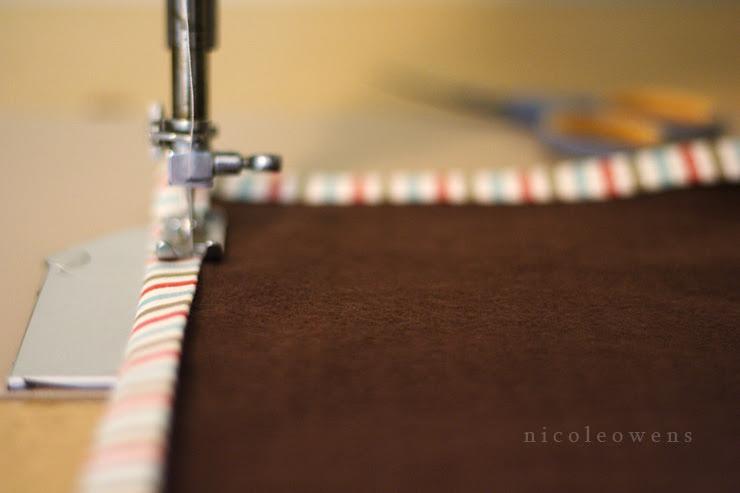 soft napkins w/binding