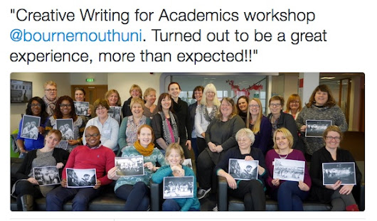 BU Research Blog | Creative Writing for Academics Two-day Workshop | Bournemouth University