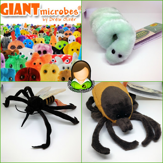 Teaching Camping Hazards with GIANTmicrobes