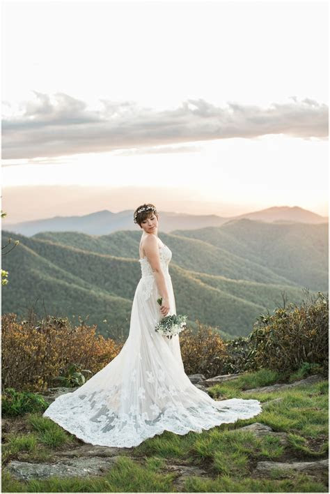 Sarah; Craggy Gardens Bridal Portraits; Asheville Wedding