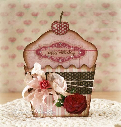 GD Happy Birthday Cupcake