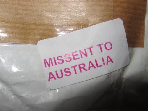 missent
