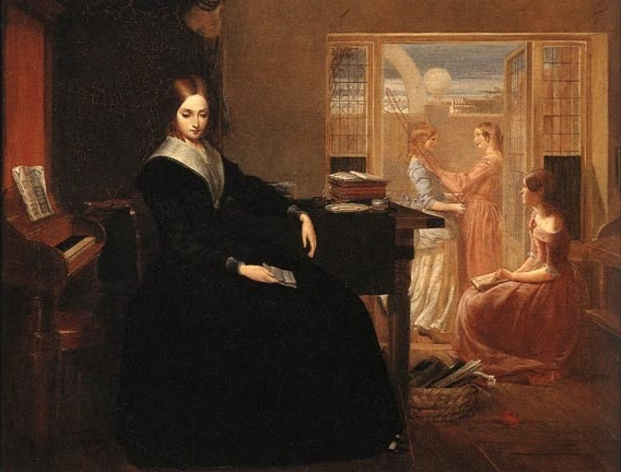 The Governess or The Poor Teacher by Richard Redgrave