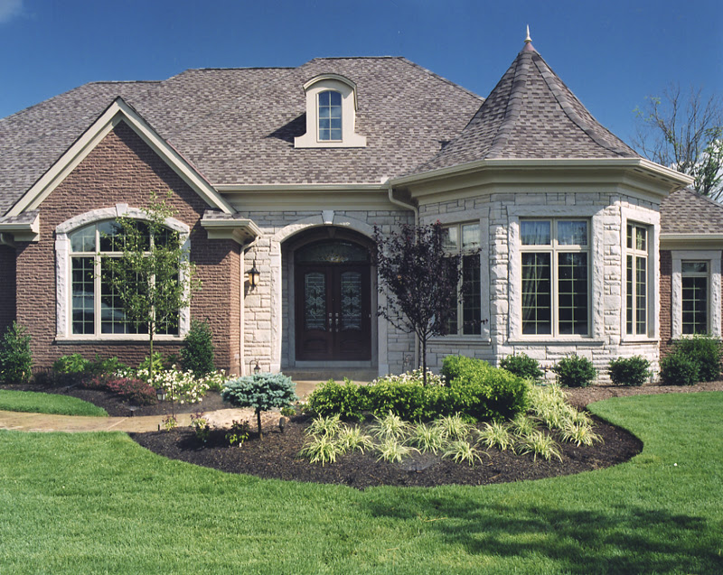 Exterior photos of House Plans drawn by Studer Residential Designs, Inc.