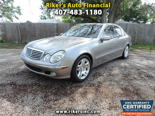 Used 2003 Mercedes-Benz E-Class for Sale in Kissimmee  FL 34744 Riker's