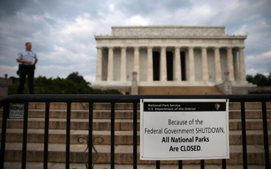 article about government shutdown and opinion