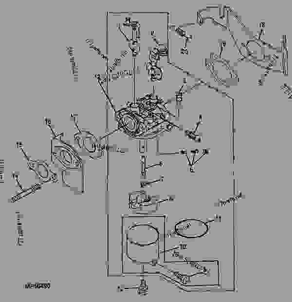 Wiring Diagram: 29 John Deere Gator Carburetor Diagram