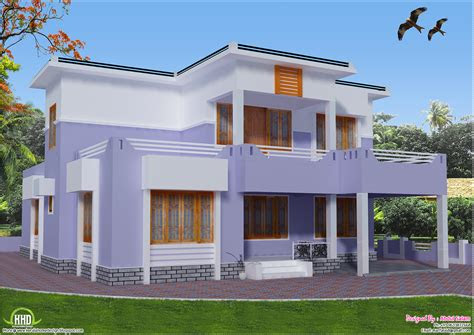 kerala home design western style house exterior designs