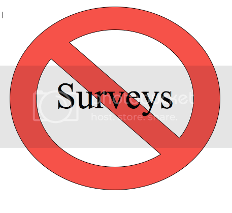 No Surveys