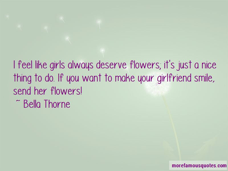 Girlfriend Smile Quotes Top 16 Quotes About Girlfriend Smile From